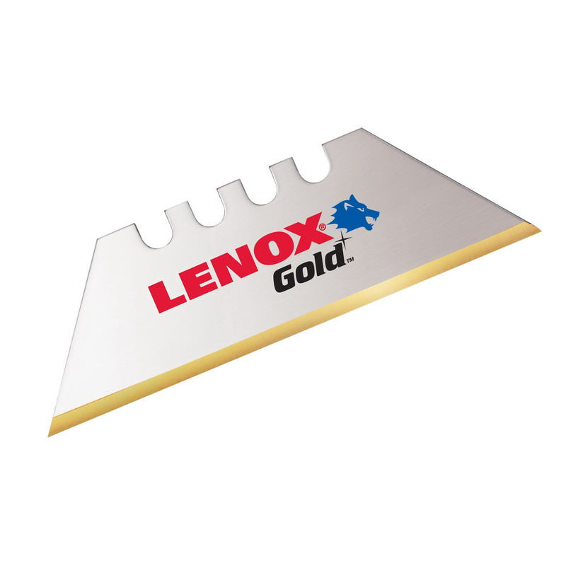 Lenox 20351-GOLD50D Gold™ Double Ended Replacement Utility Knife Blade; 50/PK