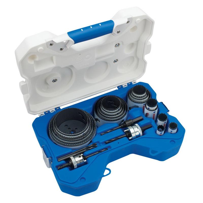 Lenox 308021200L Speed Slot® 17-Piece Bi-Metal Electrician's Hole Saw Kit