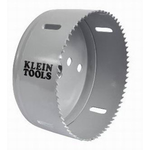 Klein Tools 31580 Great White Variable Pitch Hole Saw 5 Inch- Cobalt Bi-Metal-
