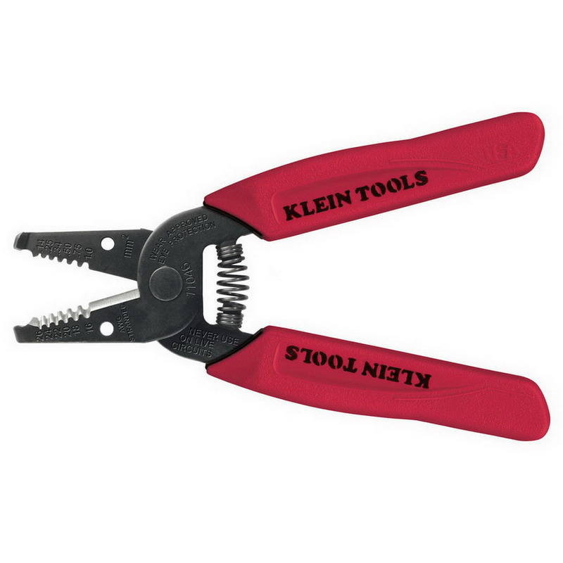Klein Tools 11046 Wire Stripper/Cutter; 6-1/4 Inch Overall Length