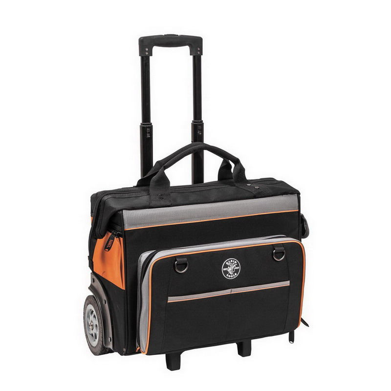 Klein Tools 55452RTB Tradesman Pro™ Organizer Rolling Tool Bag; Ballistic Nylon, 24 Pockets
