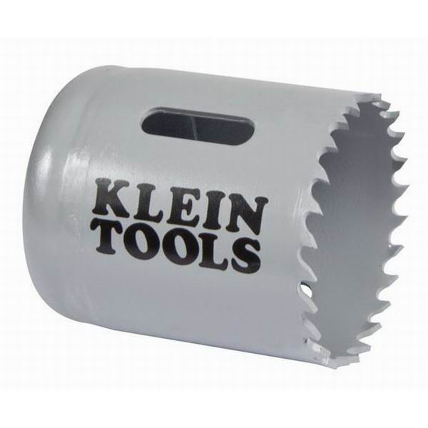 Klein Tools 31528 Great White™ Variable Pitch Hole Saw; 1-3/4 Inch, Cobalt Bi-Metal