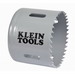 Klein Tools 31540 Great White™ Variable Pitch Hole Saw; 2-1/2 Inch, Cobalt Bi-Metal