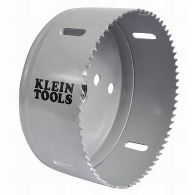 Klein Tools 31572 Great White™ Variable Pitch Hole Saw; 4-1/2 Inch, Cobalt Bi-Metal