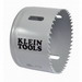 Klein Tools 31548 Great White™ Variable Pitch Hole Saw; 3 Inch, Cobalt Bi-Metal