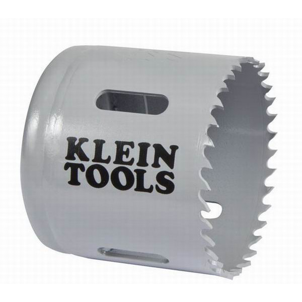 Klein Tools 31536 Great White™ Variable Pitch Hole Saw; 2-1/4 Inch, Cobalt Bi-Metal