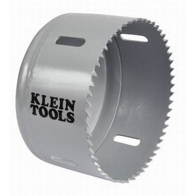 Klein Tools 31558 Great White™ Variable Pitch Hole Saw; 3-5/8 Inch, Cobalt Bi-Metal