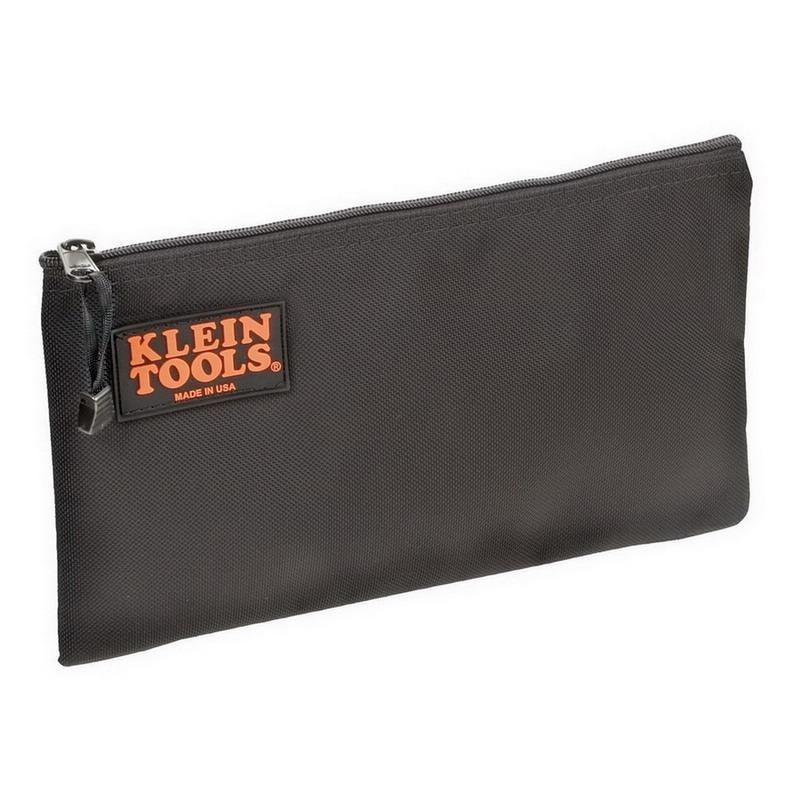 Klein Tools 5139B Zipper Bag; Ballistic Nylon, Black