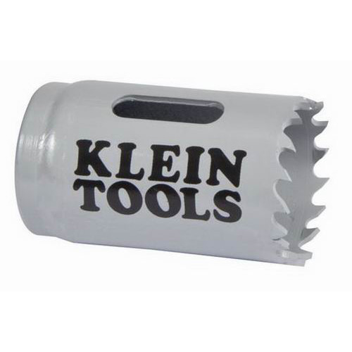 Klein Tools 31518 Great White™ Variable Pitch Hole Saw; 1-1/8 Inch, Cobalt Bi-Metal