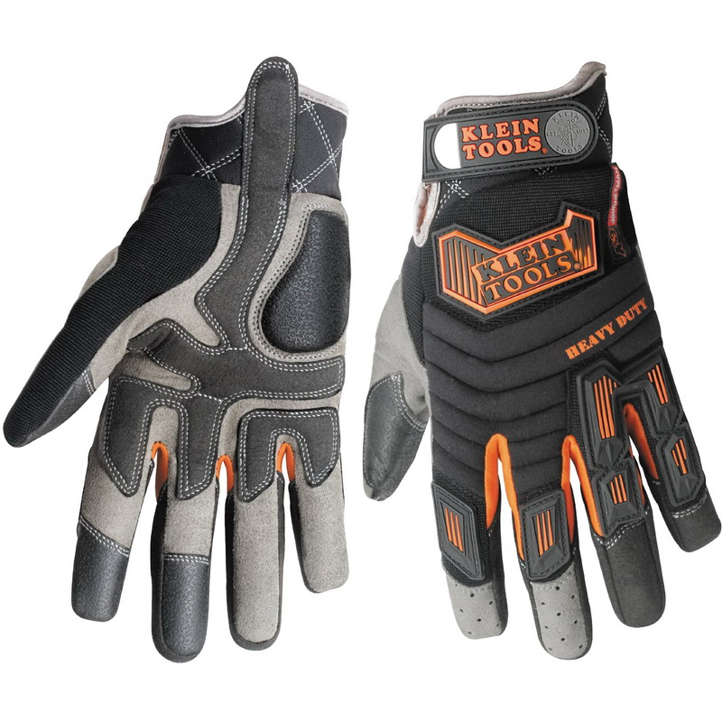 Klein Tools 40063 Journeyman™ K3 Heavy Duty Protection Gloves; Large