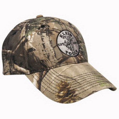 Klein Tools 96979 V-Gard® and Fas-Trac® Baseball Cap with Klein Tools Tools Logo, Camouflage