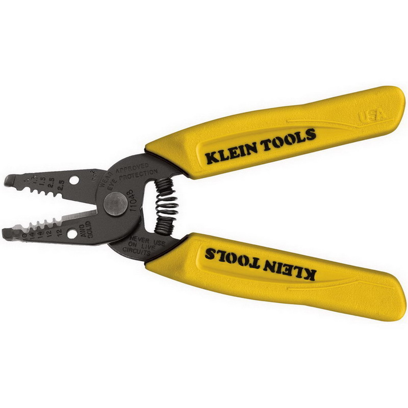 Klein Tools 11048 Wire Stripper/Cutter; 6-1/4 Inch Overall Length