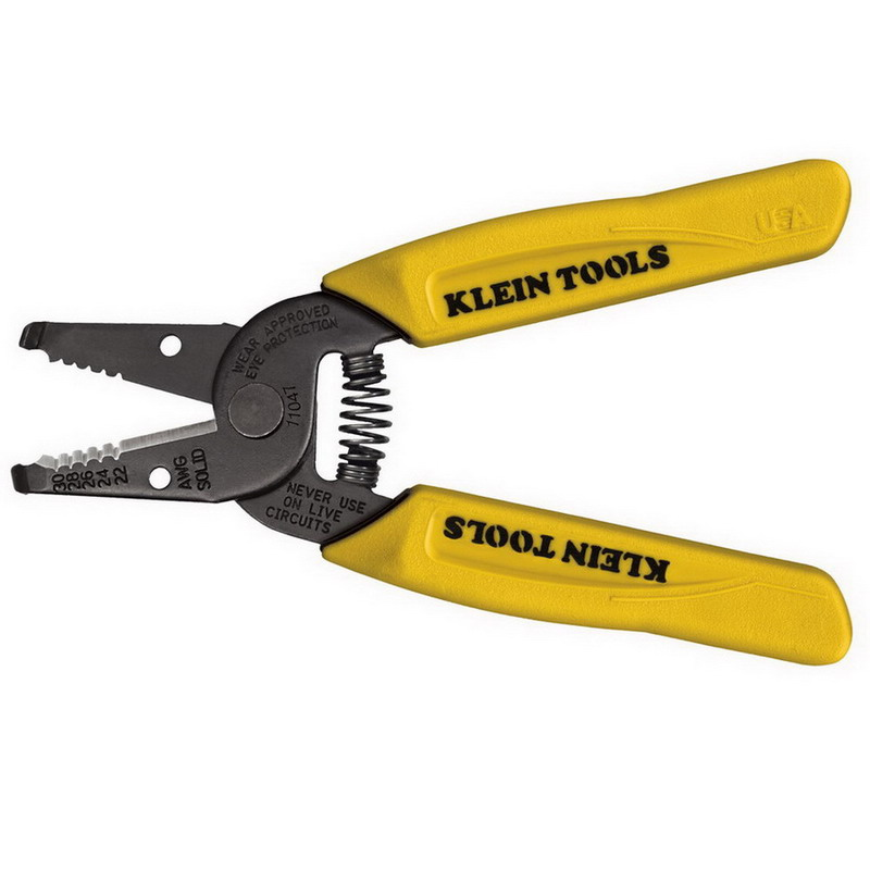 Klein Tools 11047 Wire Stripper/Cutter; 6-1/4 Inch Overall Length