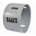 Klein Tools 31542 Great White™ Variable Pitch Hole Saw; 2-5/8 Inch, Cobalt Bi-Metal