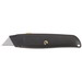 Klein Tools 44100 Retractable Utility Knife; 6 Inch Overall Length, Aluminum, Black