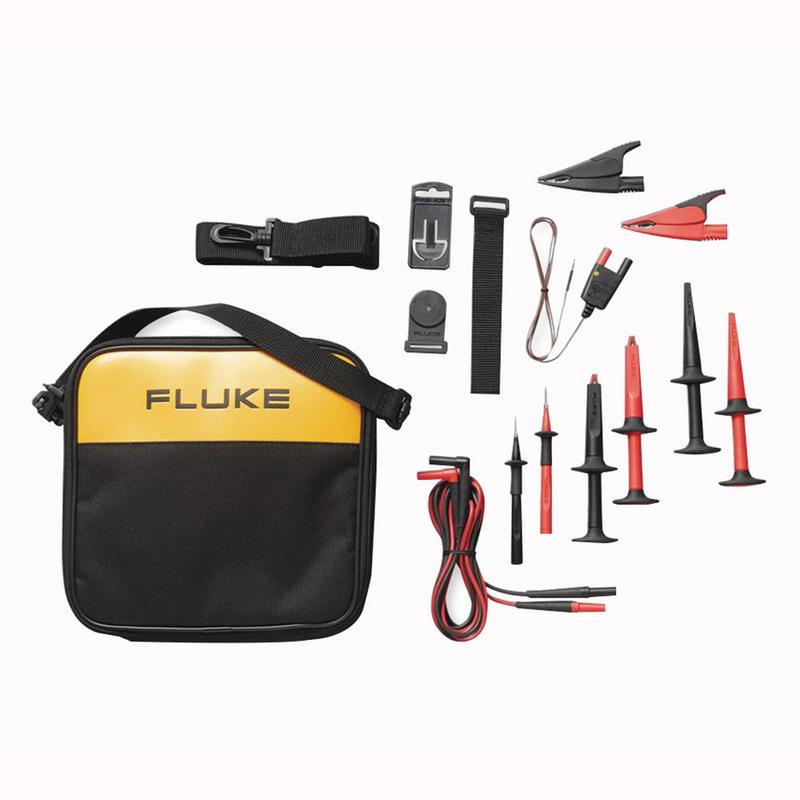 Fluke TLK289 Industrial Master Test Lead Set; 1000 Volt CAT III/600 Volt CAT IV, 10 Amp