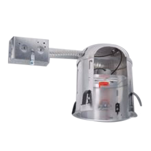 Cooper Lighting EI700RAT All-Pro® Air-Tite® Quickconnect™ 6 Inch Remodel Recessed Housing; Aluminum, Insulated Ceiling