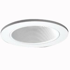 Cooper Lighting ERT501WHT Lumark® Halo® 5 Inch Baffle Trim; White