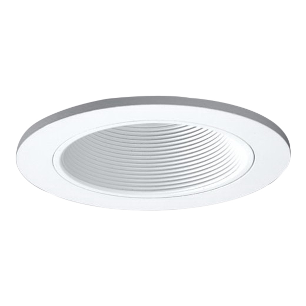 Cooper Lighting 3003WHWB Halo® Coilex® IC and Non-IC H3 3 Inch Adjustable Trim with White Baffle; White