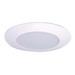 Cooper Lighting ERT721 All-Pro Economy 6 Inch Shower Light Trim With Frosted Glass Lens; White