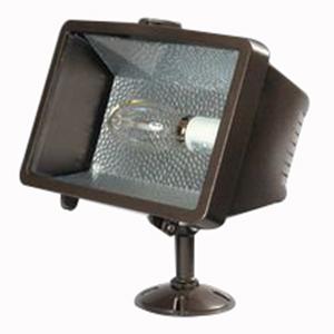 Cooper Lighting MPSF15K-MT lumaRk® 1-Light Trunnion Mount SF Falcon Metal Halide Flood Light; 150 Watt, Dark Bronze