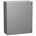 Hammond EN4SD20208GY Eclipse Series Single Door Enclosure; Steel, Gray, Wall Mount