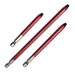 Rack-A-Tiers 70240R Robertson® Red Square Bit; #2, 4 Inch OAL