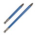 Rack-A-Tiers 70241BL Blue Phillips Power Bit; #2, 4 Inch OAL