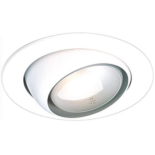 Elco EL998W 4 Inch Eyeball Trim With White Eyeball; White