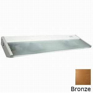 Elco EUC52BZ 2-Light Xenon Under-Cabinet Light Fixture; 70 Watt, 120 Volt, Bronze, Lamp Included