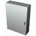 Rittal WM603612NC WM Series Enclosure; Carbon Steel, Light Gray (RAL 7035), Hinge Cover, Wall Mount