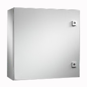 Rittal WM202408NC WM Series Enclosure; Carbon Steel, Hinge Cover, Wall Mount