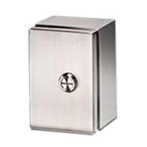 Rittal JB100804H4 JB Series Junction Box; 304 Stainless Steel, Hinge Cover