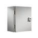 Rittal JB121006HC JB Series Junction Box; Carbon Steel, Gray, Hinge Cover