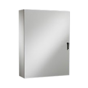 Rittal WM603616NC WM Series Enclosure; Carbon Steel, Hinge Cover, Wall Mount