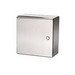 Rittal WM121206N4 WM Series Enclosure; 304 Stainless Steel, Hinge Cover, Wall Mount