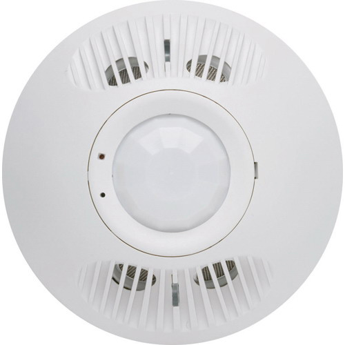 Hubbell Automation OMNIDT500 OMNI™ Dual Technology Ultrasonic and Passive Infrared Occupancy Sensor; 24 Volt DC, 500 - 2000 Sq ft, Off-White, Ceiling Mount