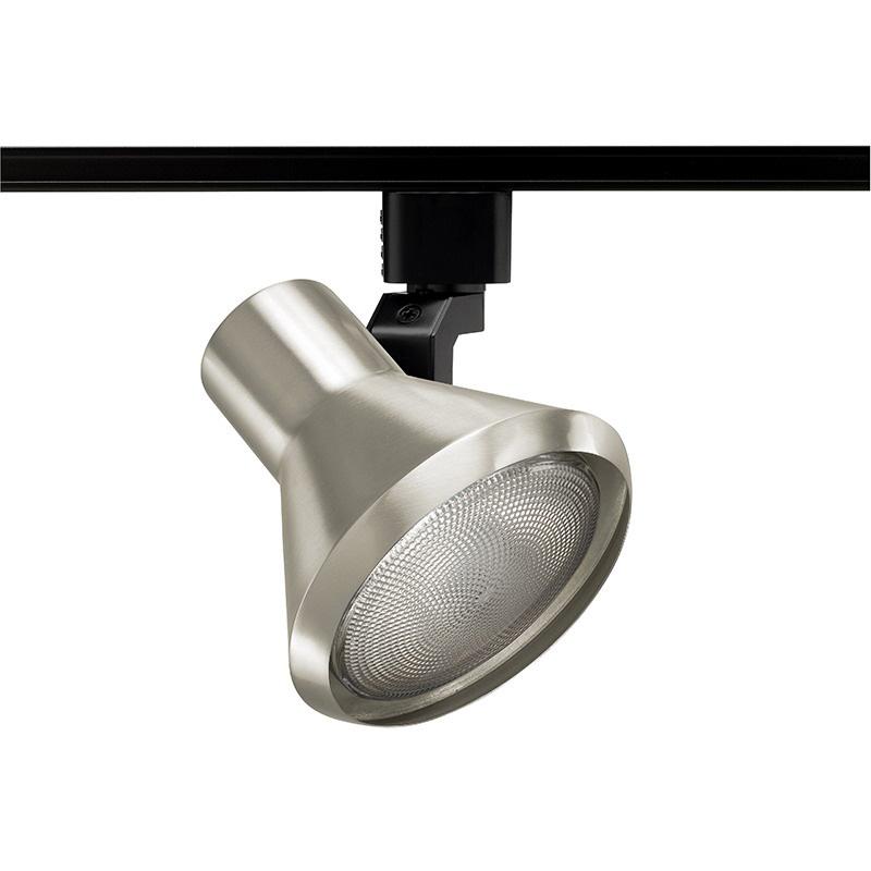 Juno Lighting R550SC Ceiling Mount Line Voltage Flared Step Spotlight Satin Chrome
