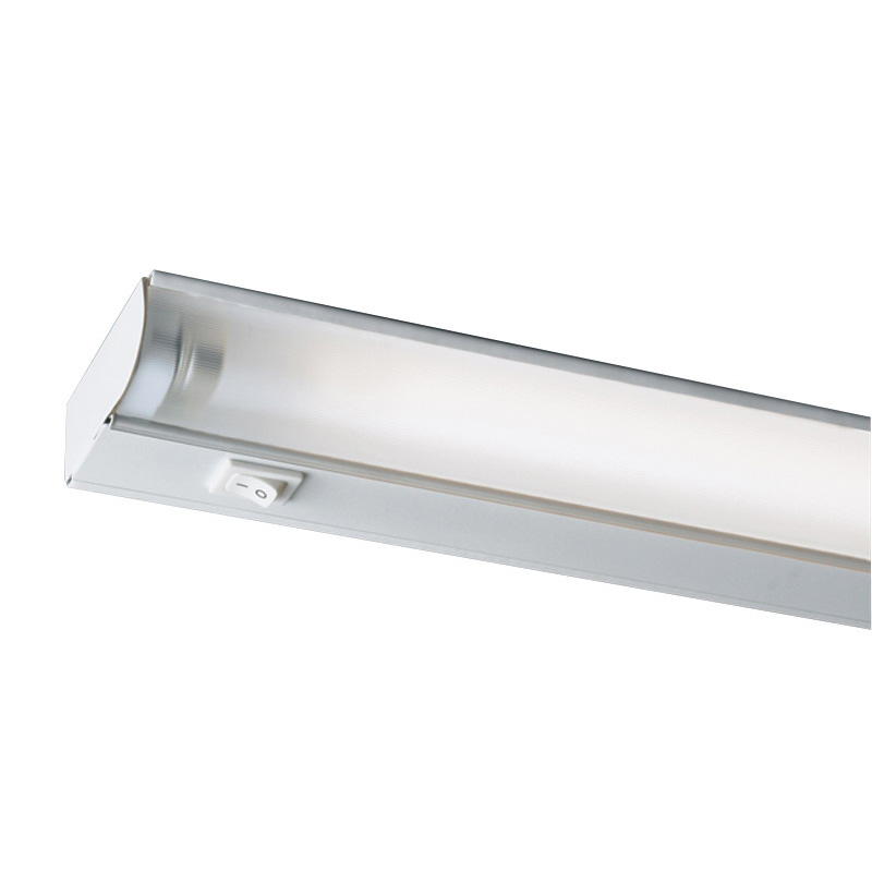 Juno Lighting UFL22-WH 1-Light Fluorescent Under-Cabinet Economy Light Fixture; 14 Watt, T5, 120 Volt, Appliance White, Lamp Included