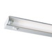 Juno Lighting UFL34-WH 1-Light Fluorescent Under-Cabinet Light Fixture; 21 Watt, T5, 120 Volt, Appliance White, Lamp Included