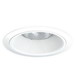 Juno Lighting V3034TW-WH 6 Inch Full Baffle Trim; White