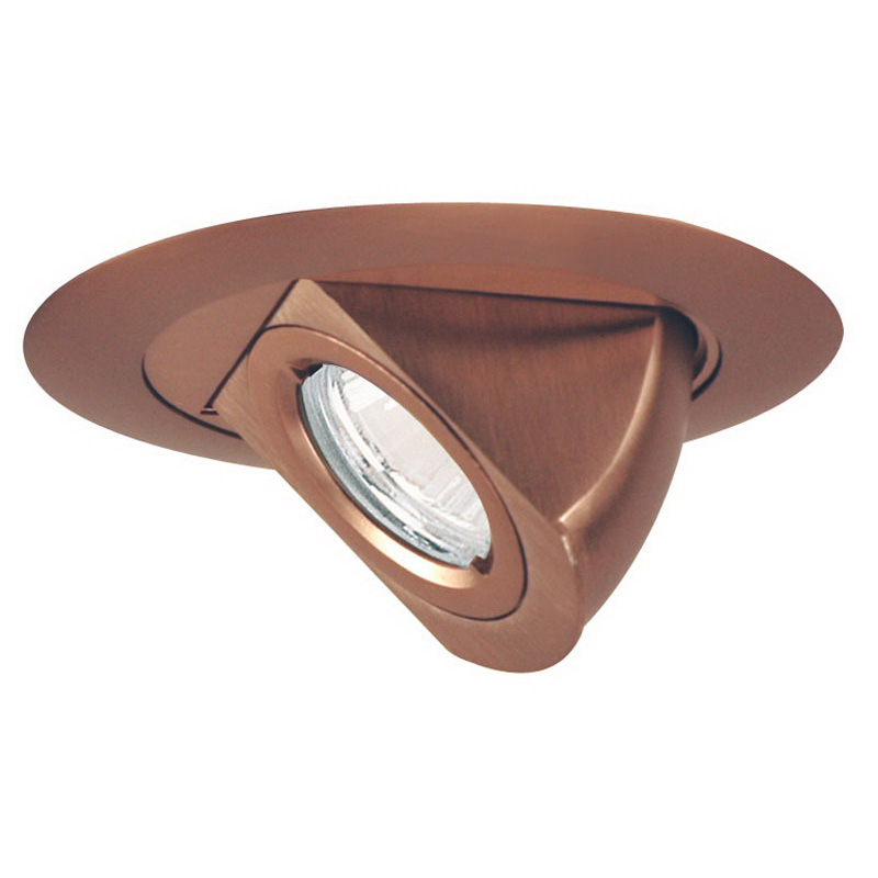 Juno Lighting 449-ABZ IC Low Voltage 4-inch Adjustable Aiming Elbow Trim; Classic Aged Bronze
