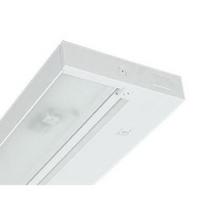 Juno Lighting UPX430-WH 4-Light Xenon Pro-Series Under-Cabinet Light Fixture; 80 Watt, 12 Volt, White, Lamp Included