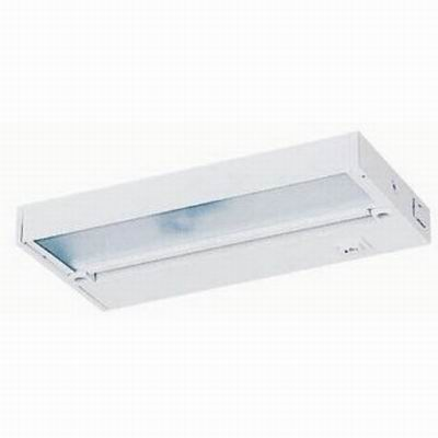 Juno Lighting UPX109-WH 1-Light Xenon Pro-Series Under-Cabinet Light Fixture; 20 Watt, 12 Volt, White, Lamp Included