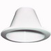 Juno Lighting V4034W-WH Adjustable Line Voltage 4 Inch Baffle Trim; White