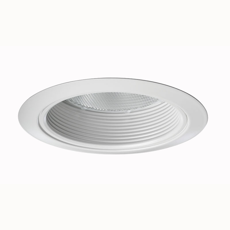 Juno Lighting 275W-WH 5 Inch Shallow Trim With White Baffle; White