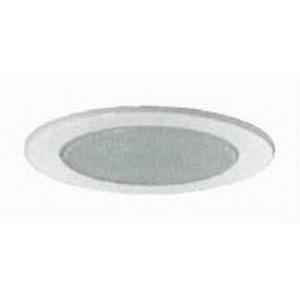 Juno Lighting V3020-PW 6 Inch Shower Trim With Flat Lens; White