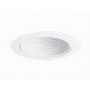 Juno Lighting V3025W-WH Vulite® 6 Inch Straight Baffle Trim; White
