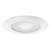 Juno Lighting 212N-WH 5 Inch Shower Trim with Frosted Lens; White, Clear