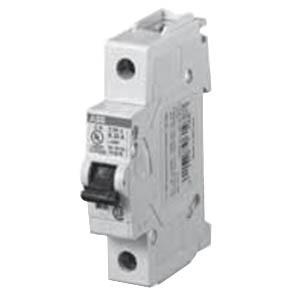 ABB S201U-K10 System Pro M compact® Branch Miniature Circuit Breaker; 10 Amp, 240 Volt AC, 1-Pole, DIN Rail Mount
